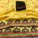 Soft Zoya Silk With Embroidery Work Sarees