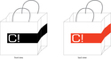 Shopping Bag of Non - Woven Material - Custom Print