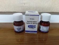 100 mcg Thyroxine Sodium Tablets IP