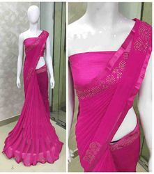 Embroidery Heavy Stone Work Saree