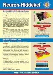 various NEURON-HIDDEKEL Thermal Chalks