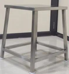 Stainless Steel Square Stool