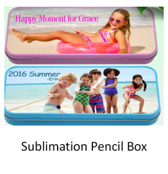 Sublimation PlasticPencil Box