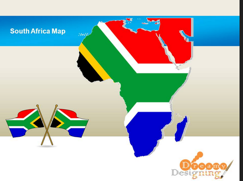 South Africa Map Design in Upvan Society Surat ID 16229755412