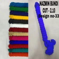 Nazamin Plain Bundi Dupatta