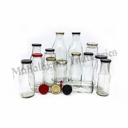 Complete Milk Glass Bottle Family