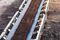 Lignite Handling Belt Conveyor System
