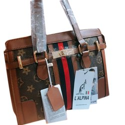 L'Alpina Genuine Leather Handbag