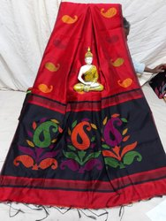 Premium quality cotton silk handloom saree