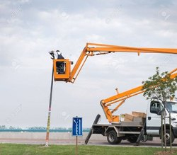 Street Light Repairing Lift Services