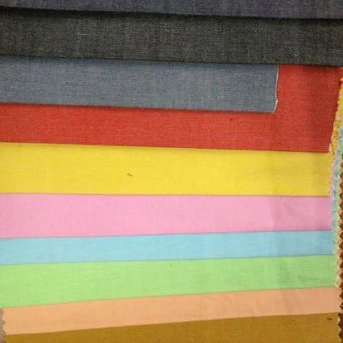 b5e4a62bcc Plain Cotton Chambray Fabric