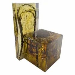 Resin Wooden Chair