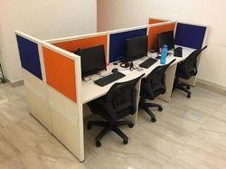 6 Seater Modular Workstation