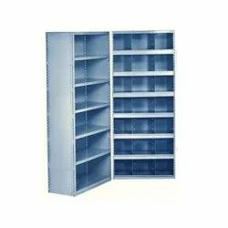 6-7 Ft Color Coated Stainless Steel Closed Rack, Material Grade: SS304
