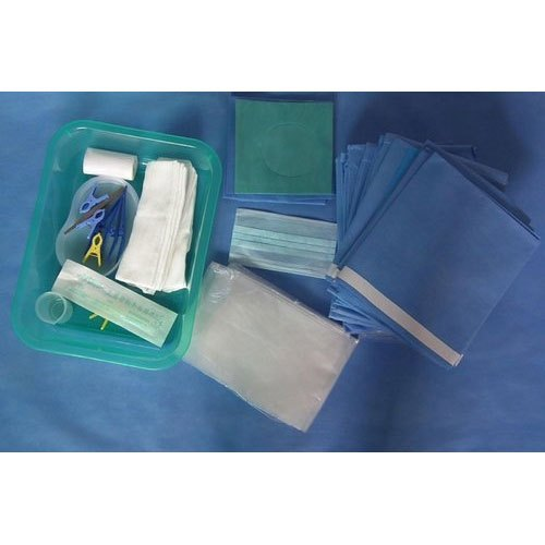 Plain Drapes Polypropylene Eco Friendly Surgical Angiography Drape, for General Surgery, Packaging Type: Packet