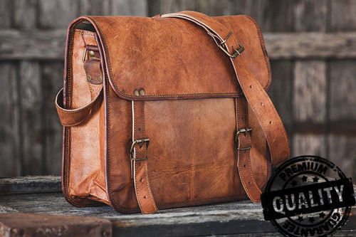 5766767dedb1 Handmade Brown Vintage Leather Bag