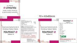 Tolperison Hydrochloride Diclofenac Sodium Tablets