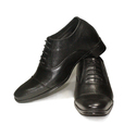 Mens Leather Elevator Shoes, Size: 6-9