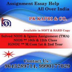 Online NIOS Solved Assignment 2018-19-Soft Copy