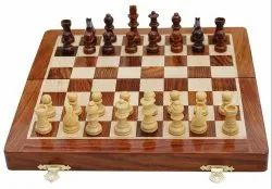 Magnetic Wooden Chess Set 10.5 x 10.5 Inch chess Wood Chess Set for Kids and Adults Magnetic Chess