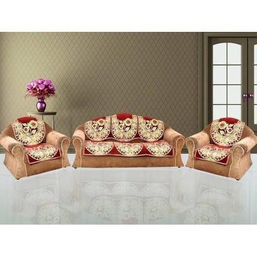 Sensational Floral Velvet Sofa Cover Pabps2019 Chair Design Images Pabps2019Com