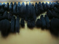 Indian Human Double Weft Wavy Hair King