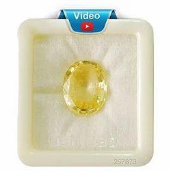 Gemstones Yellow Sapphire 7.25 Ratti Pukhraj Stone