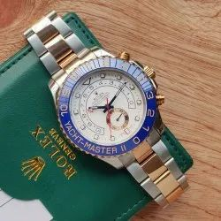 Men Round Rolex Wrist Watch, for Formal, Model Name/Number: 01234