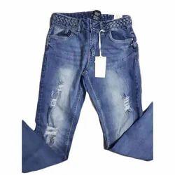 Blue Base Stretchable Ladies Skinny Jeans