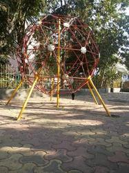 Crystal Maze Playground climber