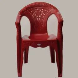 16 Inch Red Plastic Chair
