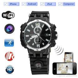 HD Wireless Mini Cameras Watch Hidden