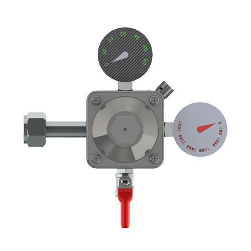 Brass High Pressure Precision Primary Co2 Regulator -1