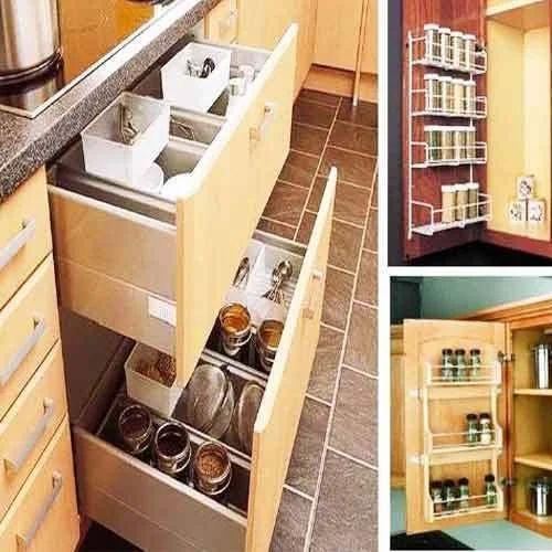 Brown Trendy Kitchen Cabinet V K Interior Decorator Id 14425879548