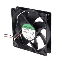 Sunon DC Brushless Fan  4 Inch 24VDC PMD2412PTB1 AP N2 GN 120x120x25mm  Ball Bearing  2Wire