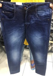 Plain Regular Fit Mens Jeans