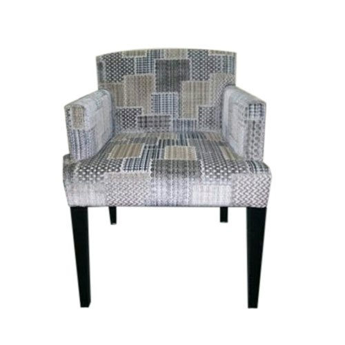 Printed Wooden Sofa Chair