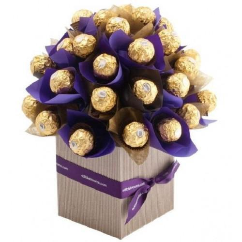 Divine Chocolate Birthday Gift Bouquet