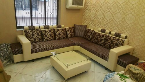 Indian Italian L Shape Corner Sofa Set