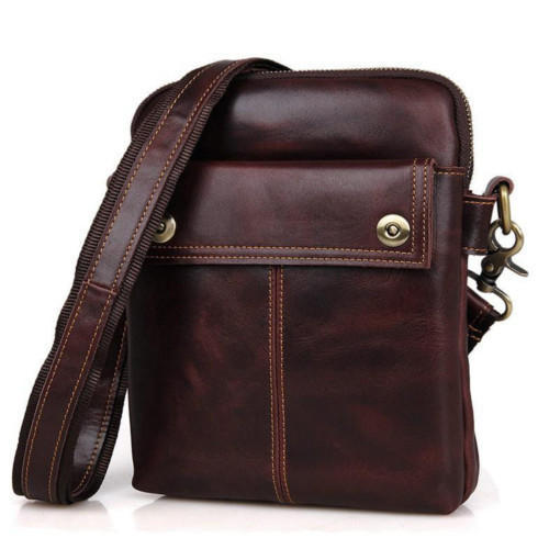 Leather Sling Messenger Bags