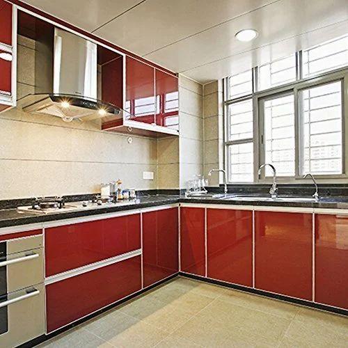 Teak Wood Kitchen Cabinets Rs 200000 Piece Deco Interior Id