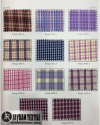School Uniform Check Fabric