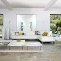 Foam White Modern Sofa, For Home And Hotel