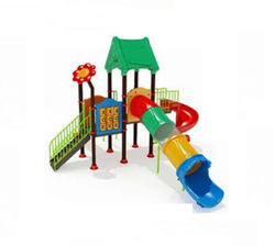 3 in 1 Tube Slide Multi Play Station