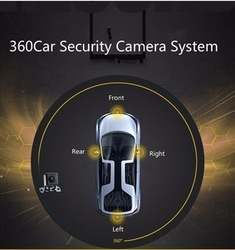 Truck Bus 360 Bird View Camera System Dvr Plug And Play