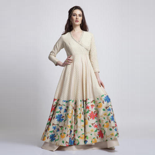 Cotton Ladies Indo Western Dress, Rs