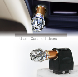 Car Air Purifier ( With Home Adopter)