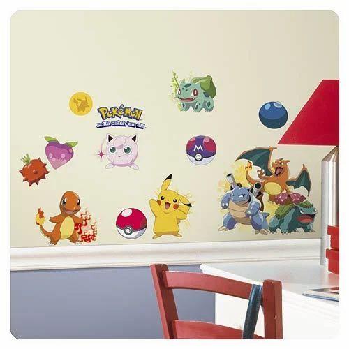 Stickers Pokemon.Pokemon Wall Stickers