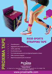 Proxima 3.8 cm Rigid Sports Strapping Tape, for Sports