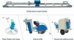 Double Beam Surface Vibrator With Motor